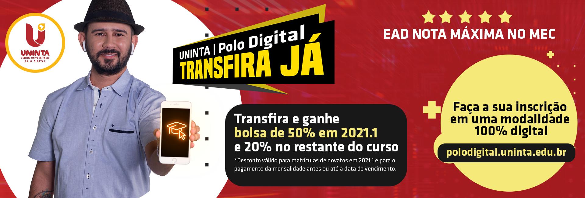 POLO DIGITAL - Banner Transfira já - 1920x650